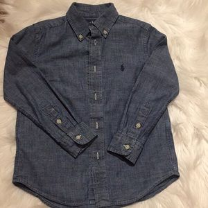 RL Cotton Chambray Shirt
